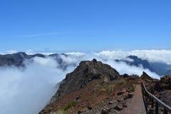 Roque de los muchachos La Palma, Ilhas Canárias, Espanha Fotos de Stock Royalty Free