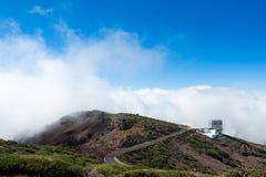 Roque de los Muchachos Observatory, La Palma Stock Images