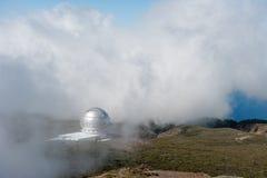 Roque de los Muchachos Observatory, La Palma Royalty Free Stock Image