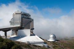 Roque de los Muchachos Observatory, La Palma Stock Photography