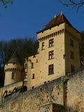 roque för malartrie för la för gageac för chateaude france Arkivfoton