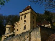 roque för malartrie för la för gageac för chateaude france Arkivfoto