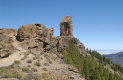Roque Nublo Images stock