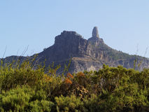 Roque Nublo Stock Photography