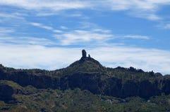 Roque Nublo Royaltyfri Foto