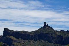 Roque Nublo Obraz Stock