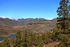 Roque Nublo emblem?tico, monumento natural simb?lico de Gran canaria, Ilhas Can?rias imagem de stock royalty free