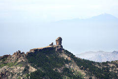ROQUE NUBLO ET SUPPORT TEIDE Photo stock