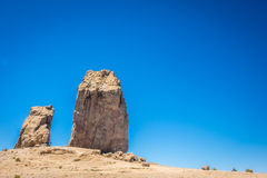 Roque Nublo Royalty Free Stock Photography