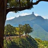 Roque Nublo, Gran Canaria Photos stock