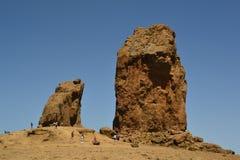 Roque Nublo - Gran Canaria imagem de stock royalty free