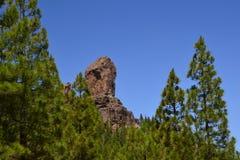 Roque Nublo - Gran Canaria fotografie stock libere da diritti