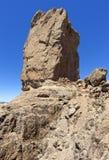 Roque Nublo on Gran Canaria Stock Photo