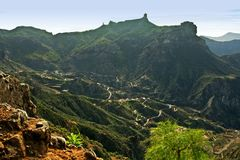 Roque Nublo, Gran Canaria Royalty Free Stock Photos