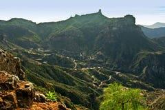Roque Nublo, Gran Canaria royalty-vrije stock foto's