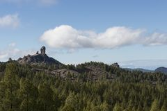 Roque Nublo, Gran Canaria, España Foto de archivo