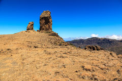 Roque Nublo. Gran Canaria. Spain Royalty Free Stock Images
