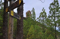 Roque  nublo Stock Image