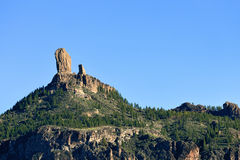Roque Nublo, Gran Canaria Royalty Free Stock Photo