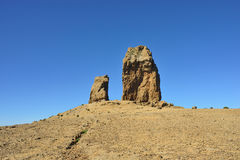 Roque Nublo, Gran Canaria Stock Photography