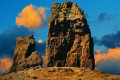 Roque Nublo, Gran Canaria Stock Images
