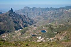 Roque Nublo, Gran Canaria Zdjęcia Royalty Free