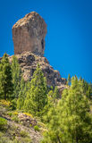Roque Nublo Stock Photo