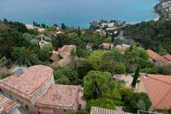 Roquebrune Cap Martin Royalty Free Stock Photos