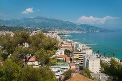 Roquebrune-Kappe-Martin Stockfoto