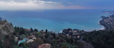 Roquebrune view Stock Images