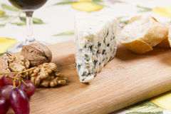 Roquefort cheese Royalty Free Stock Image