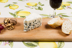 Roquefort cheese Royalty Free Stock Images