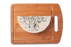 Roquefort cheese slice. Stock Photos