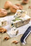 Roquefort cheese Royalty Free Stock Photos