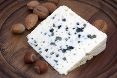 Roquefort - French cheese Royalty Free Stock Photos