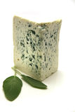 Roquefort over white Stock Photo