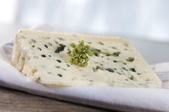 Roquefort soft blue french cheese Stock Photo