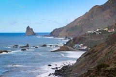 Roques de Anaga Foto de Stock Royalty Free