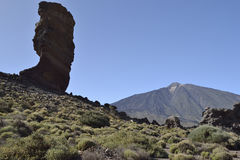 Roques de García, EL Teide, Tenerife fotos de stock