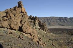 Roques de García, EL Teide, Tenerife fotografia de stock