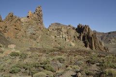 Roques de García, EL Teide, Tenerife fotografia de stock royalty free