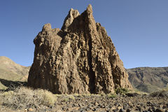 Roques de García, EL Teide, Tenerife imagens de stock