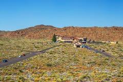 Roques de Garcia and El Teide Volcano Royalty Free Stock Images
