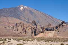 Roques de Garcia and Teide Royalty Free Stock Image