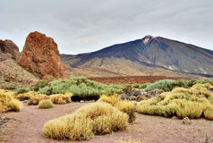 Roques De Garcia, Teide National Park, Tenerife Royalty Free Stock Photo