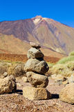 Roques de Garcia and Teide National Park, Tenerife Royalty Free Stock Photography