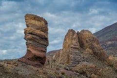Roques de Garcia, Tenerife νησί Στοκ Εικόνες