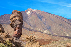 Roques de Garcia. Tenerife, Spain Stock Photography