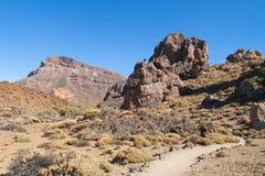 Roques de Garcia trail Stock Photos