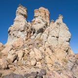 Roques de Garcia volcanic chimneys Stock Image